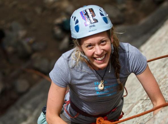 climb woman